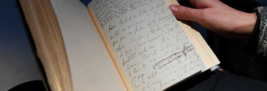 manuscrits de Marcel Proust